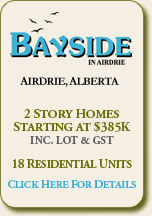 Bayside in Airdrie
